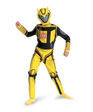 Transformers Bumblebee Boy Costume