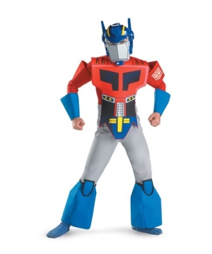 Transformers Optimus Prime Boys Costume deluxe