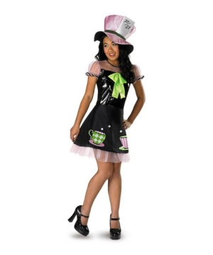 Mad Hatter Teen Girl Costume