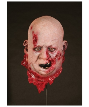 Fat Zombie Head Prop Halloween Decoration