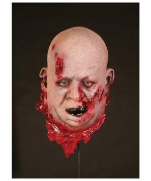 Fat Zombie Head Prop Halloween Decoration