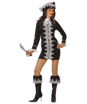 Fancy Pirate Womens Costume