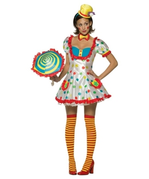 Female Clown Costume - Adult Costume