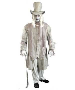 Ghostly Victorian Gentleman Mens Costume