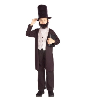 Abe Lincoln Boys Costume