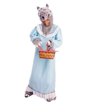 Granny Wolf Adult Costume