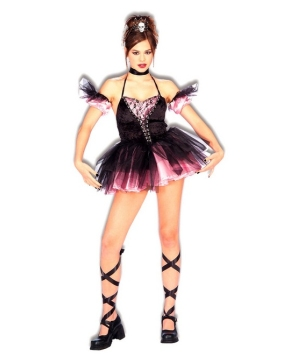 Dark Ballerina Teen Costume