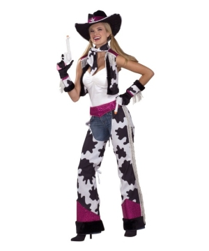 Glamour Cowgirl Womens Costume