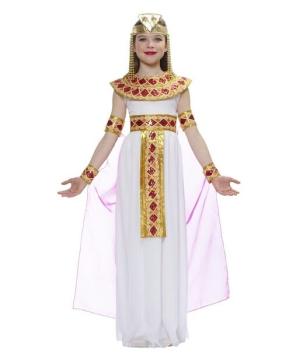 Pink Cleopatra Egyptian Girls Costume