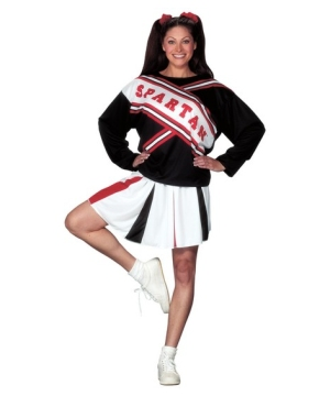 Cheerleader Spartan Womens Costume