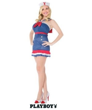 Classic Sailor Costume - Playboy Adult Costume