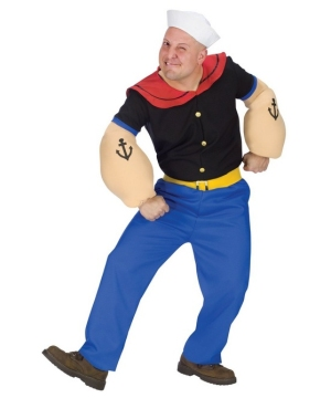 Popeye Costume Adult plus size Costume