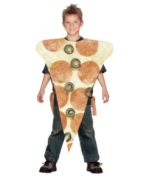 Pizza Slice Kids Costume