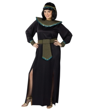 Midnight Cleopatra plus size Egyptian Costume