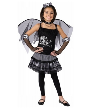Funky Punk Fairy Girls Costume