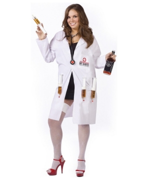 Dr. Shots Female plus size Costume