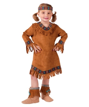 Native American Girl Costume - Toddler Indian Costume