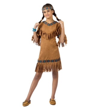 Native American Girl Costume - Kids Indian Costume