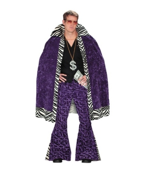 Zebra Pimp Adult Cape