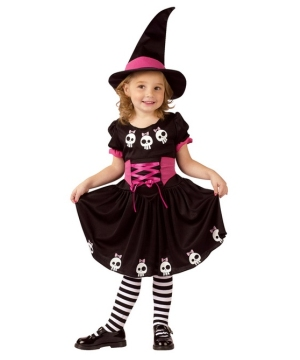 Skull Witch Toddler Costume