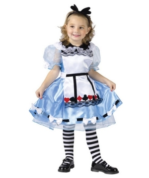Alice in Wonderland Girl Costume