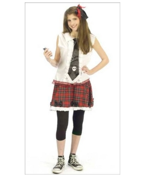 School Girl Teen Costume
