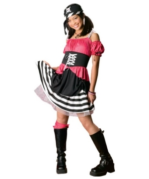 Sweet Pirate Girls Teen Costume