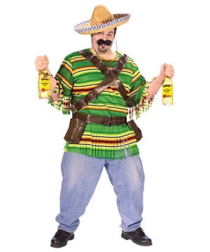 Tequila Pop N Dude Costume - Adult Costume plus size