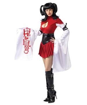 Samurai Geisha Womens Costume