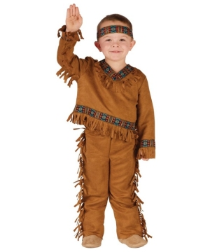 Native American Indian Toddler Costume