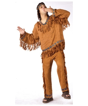 Indian Man Costume - Adult Costume