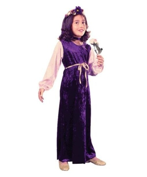 Flower Princess Kids Costume