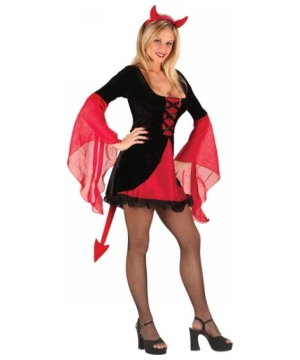 Sweet & Sexy Devil - Adult Halloween Costume