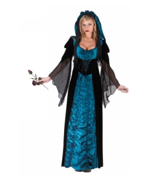 Bride Midnight Blue Costume - Adult Costume