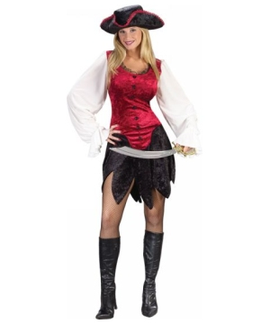 Pirate Lady Sexy Costume - Adult Costume