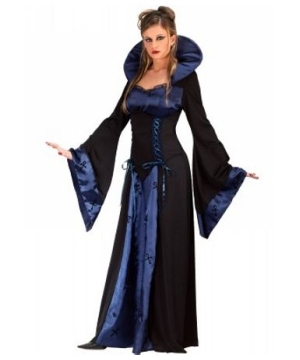 Blue Vampiress Women Costume