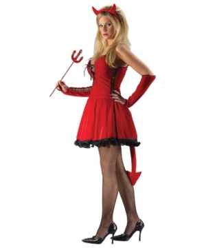 Sexy Devil Women Costume