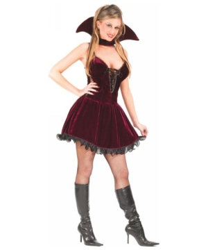 Sexy Vampiress Dress Adult Costume