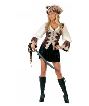 Sexy Pirate Royal Lady Adult Costume