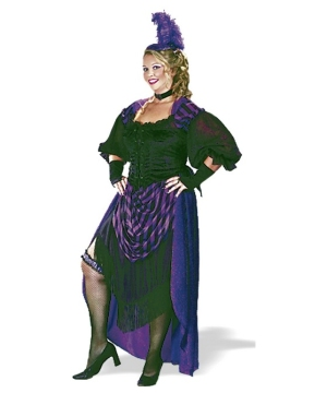 Lady Maverick Adult Costume plus size