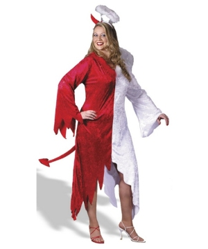 Naughty and Nice plus size Women Costume