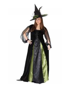 Gothic Maiden Witch Adult plus size Costume