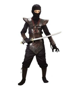 Ninja Fighter Boys Costume