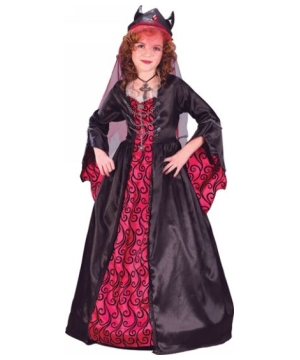 Bride of Satan Costume - Kids Costume