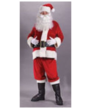 Santa Suit Velvet Costume plus size