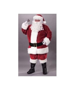Santa Suit Plush Crimson plus size