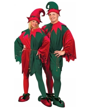Elf Adult Costume deluxe
