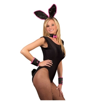 Instant Black Bunny Adult Costume Accessory