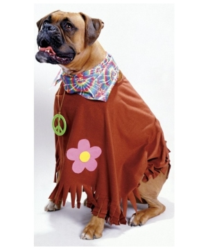 Hippie Dog Costume - Pet Costume