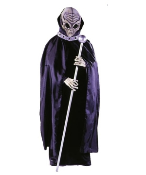 Alien Adult Mask With Cape